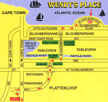 At Wendy's Place, Guest house - Self Catering [Cape Town » Western Cape » South Africa]